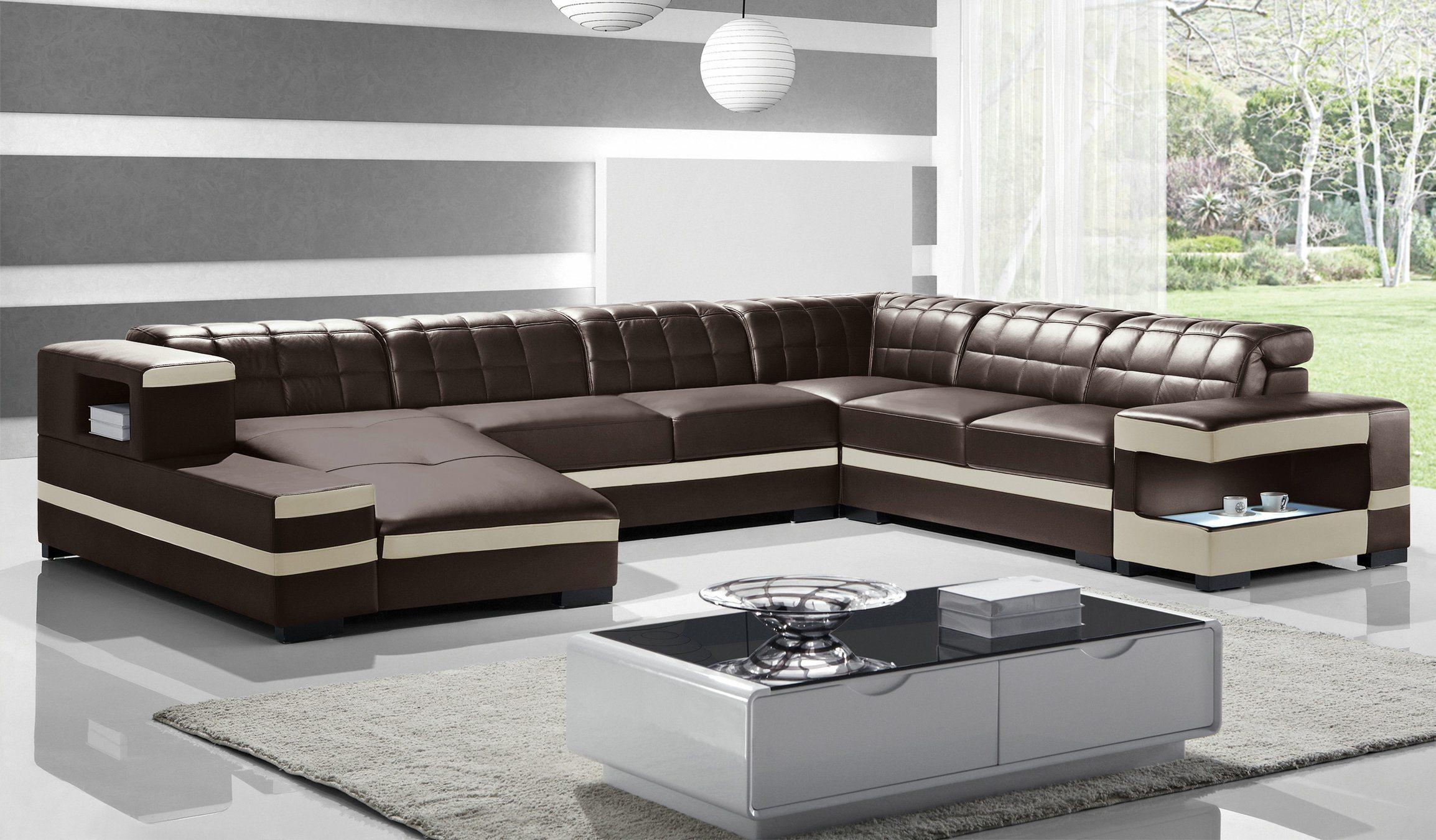 Modern U-Shape Sofa - Joy Furniture